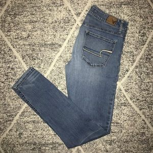American Eagle, High Rise, Super Skinny Jeans